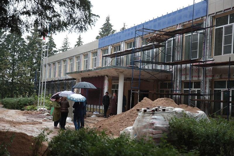 Капитальный ремонт вЕршовской школе завершат воктябре, Сентябрь