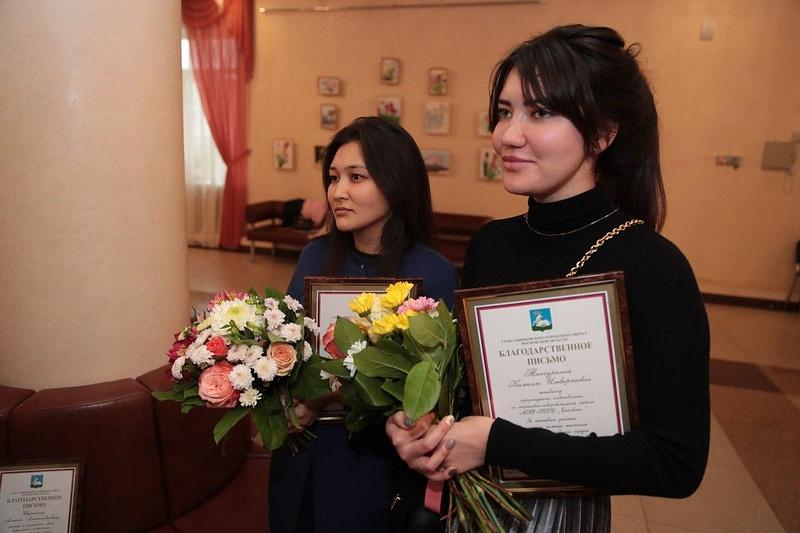 Андрей Иванов вручил благодарственные письма волонтёрам Ершовского, Сентябрь