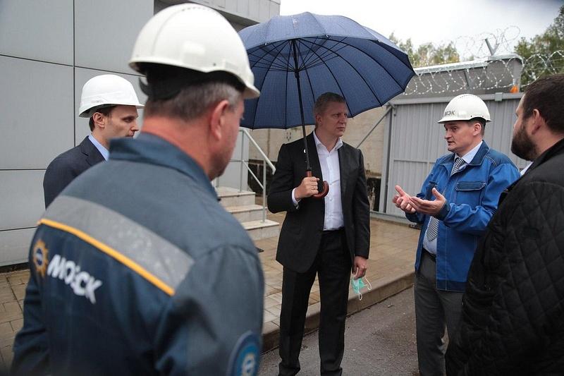 Новая электростанция обеспечит теплом центральную часть Звенигорода имикрорайон «Восточный», Сентябрь