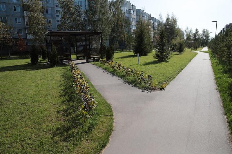 Благоустройство территории военных городков вОдинцовском округе продолжается, Сентябрь