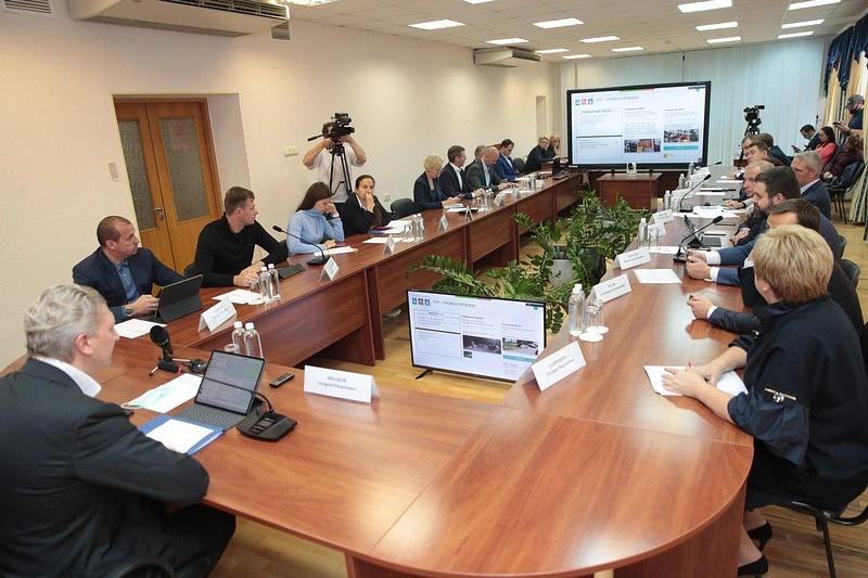 Глава округа поручил начать консультации построительству очистных сооружений вНемчиновке, Сентябрь