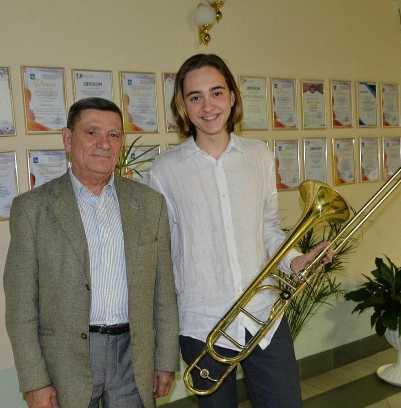 Воспитанник Лесногородской детской школы искусств Тимофей Стасенко стал призером XIX Молодёжных Дельфийских игр, Ноябрь