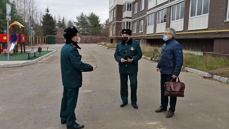 Главгосстройнадзор начал проверку нового жилого дома вНемчиновке, Ноябрь