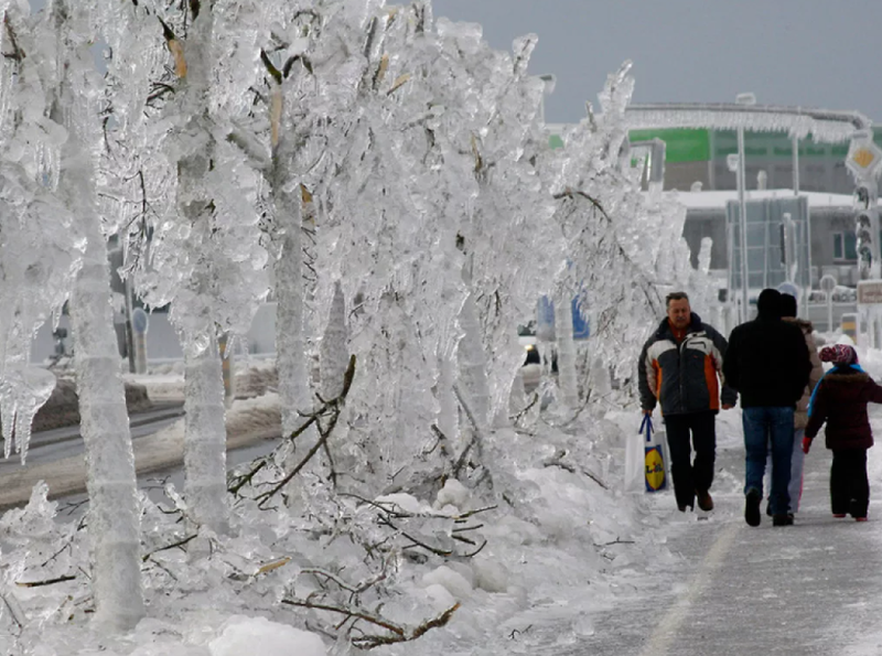 Натерритории Одинцовского округа 18и19ноября возможны «ледяные дожди», Ноябрь