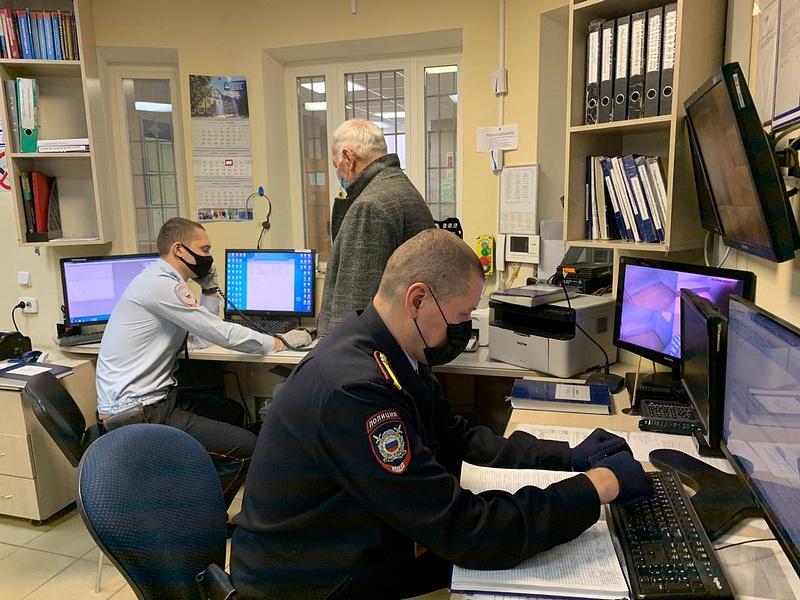 УМВД текст 1, Общественники проверили работу Дежурной части Лесногородского отдела полиции
