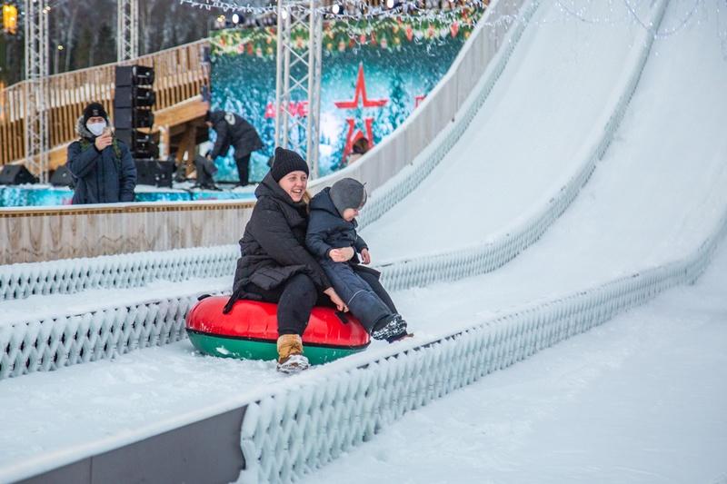 Новогодний фестиваль впарке «Патриот» втечение праздников посетили более 200 тысяч человек, Январь