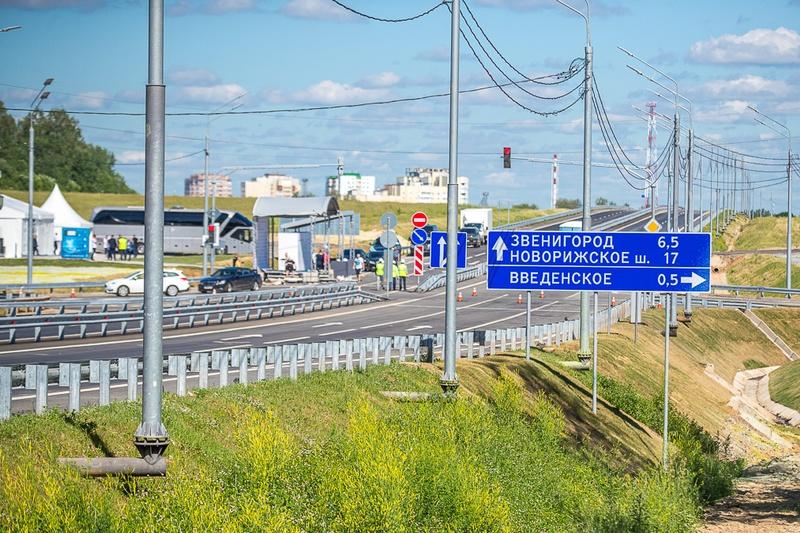 ЦКАД— Центральная кольцевая автодорога, Апрель
