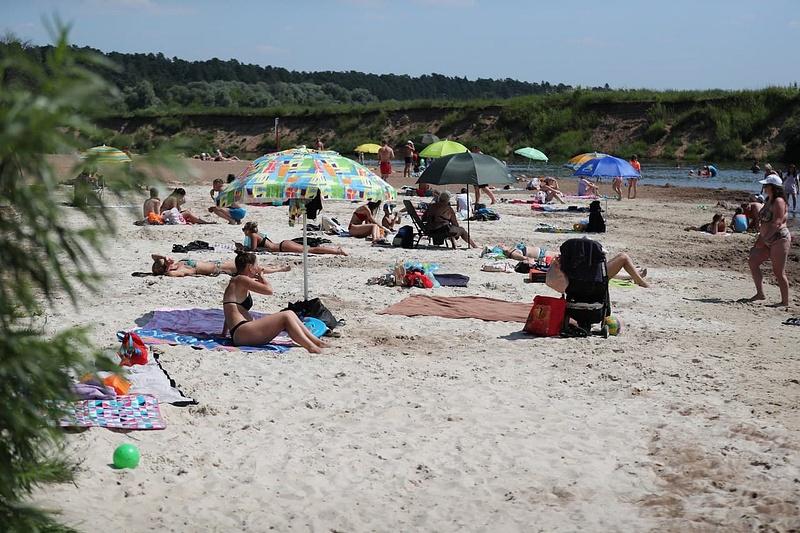 07 08 15 24 50, 8 июля, глава Одинцовского городского округа Андрей Иванов с рабочим визитом посетил пляж «Дипломат», расположенный на Николиной Горе