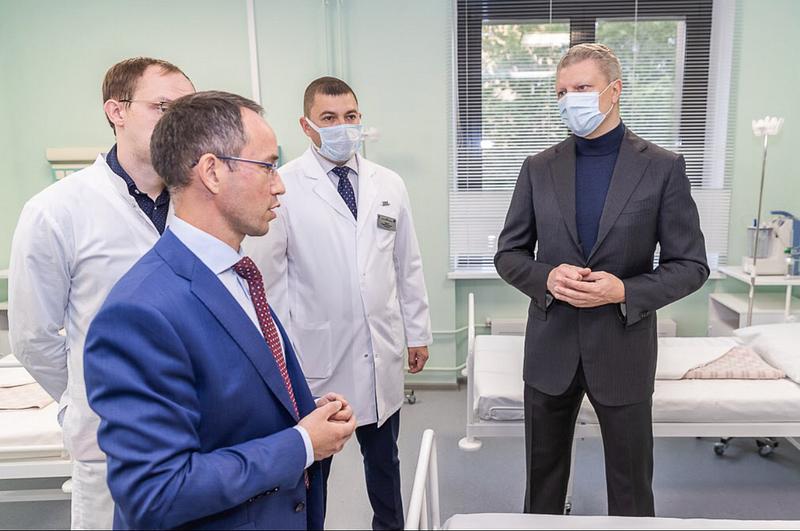 На базе Одинцовской областной больницы открылся Центр рассеянного склероза и нейроиммунологических заболеваний